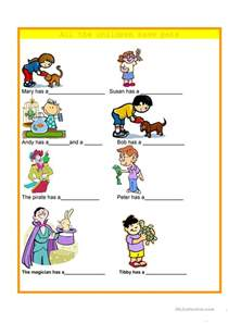 second grade comprehension 130 free esl pets worksheets