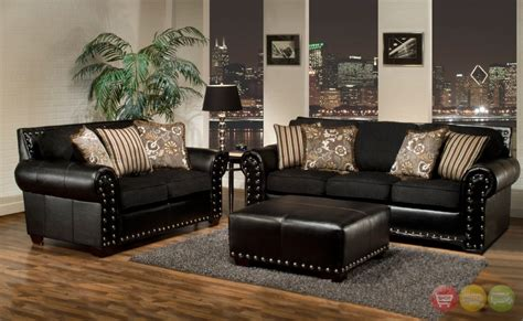 Living Room Design With Black Leather Sofa : Black Sofa Throw Gold Throws For Sofas Metallic Texture