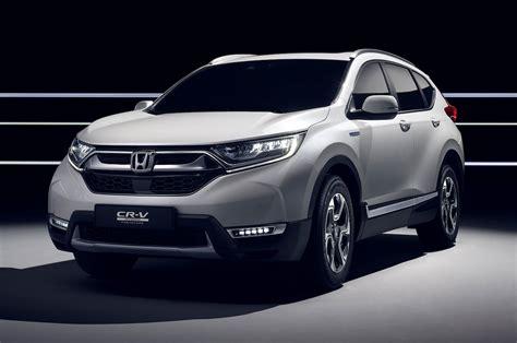 Honda Cr-v Hybrid And Seven-seat Models Debut In Geneva