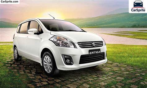 suzuki ertiga  prices  specifications  uae car