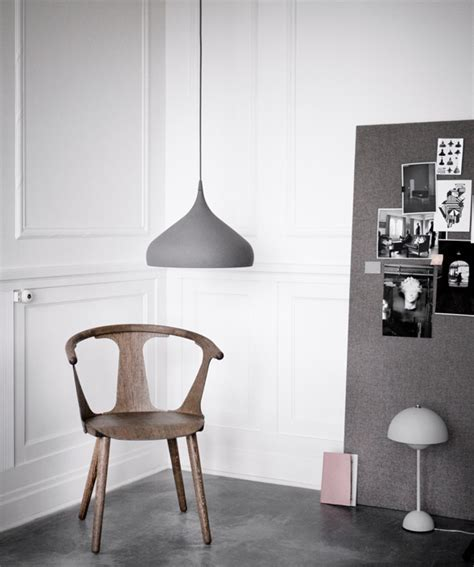 Spinning BH2 pendant light designed by Benjamin Hubert