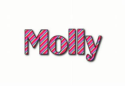 Molly Logos Text Flamingtext