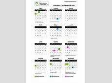 Calendario Laboral Málaga 2020