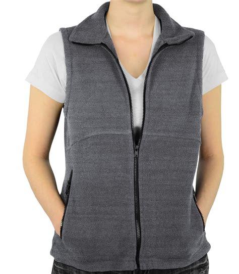 fleece vest  women   colors   mato hash