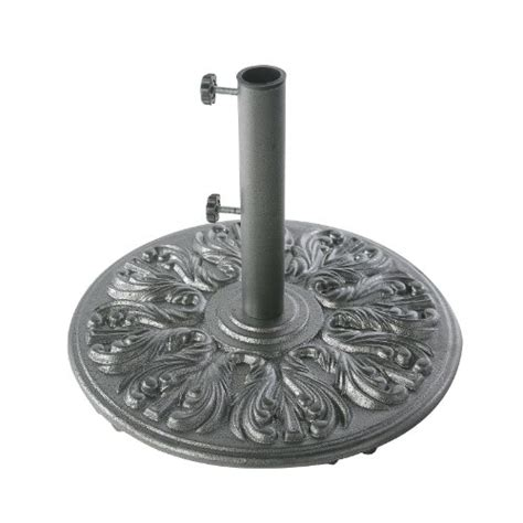 umbrella stand 75 pound european design cast iron