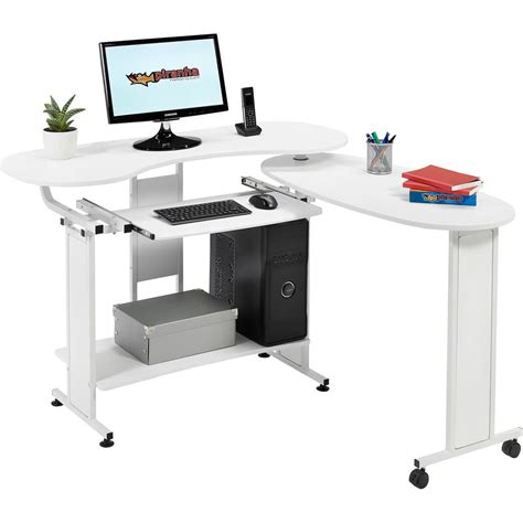 home office computer desk compact folding computer desk w shelf home office