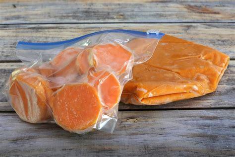 can you freeze sweet potatoes how to freeze sweet potatoes three ways
