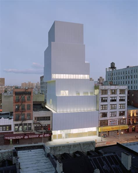 Museum Modern New York by New Museum Sanaa Arch2o