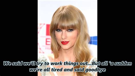 NEW!! Break-up Song Taylor Swift with Harry Styles - YouTube