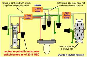 Electrical Fixture Wiring Diagram Black To Black