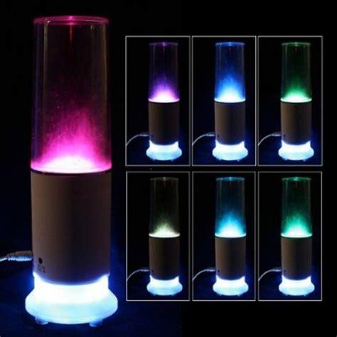 usb led light tube speaker touch sensor led water usb mood l night light speaker