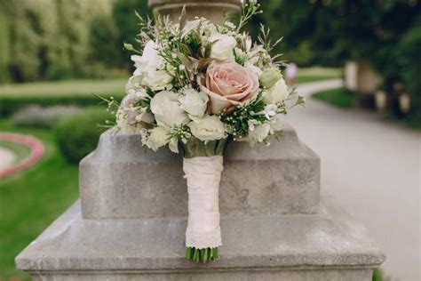 real touch vintage flower wedding bouquet vintage wedding