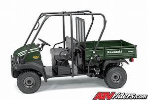 2008 Kawasaki Mule U2122 3010 Trans 4x4 Diesel Side X Side