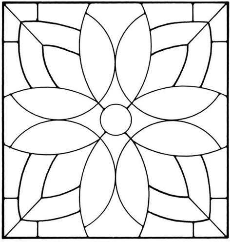 Floral Stained Glass Pattern Book floral stained glass pattern book stained glass