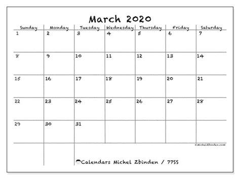 calendar march  ss michel zbinden en