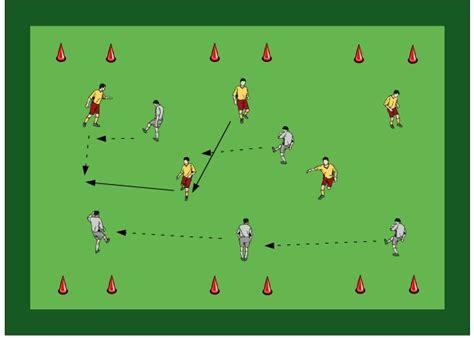 ejercicio de futbol partido  basculaciones