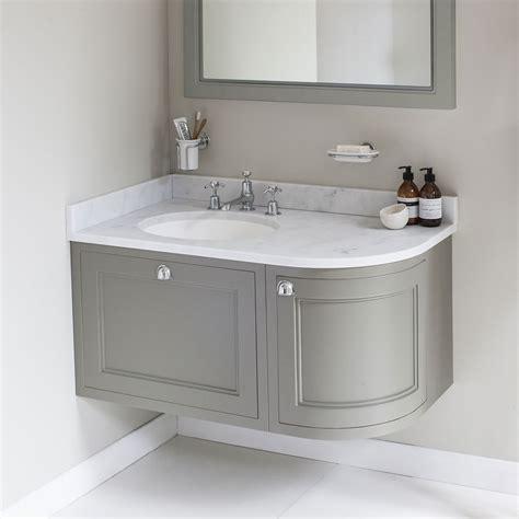 corner bathroom sink ideas interior corner vanity units with basin feng shui colors