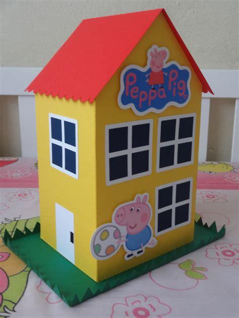 casa pepa pig casa peppa 28cm elo 225 personalizados elo7