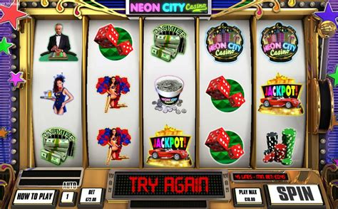 Neon City Casino Slot (incredible Technologies), Nostalgia