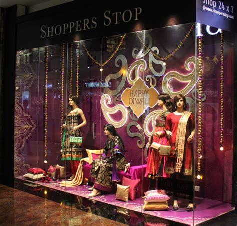 diwali  window display  shoppers stop thane fab vm