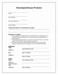 chronological resume template forms fillable printable With fillable resume templates pdf