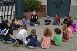 Picture of Teacher and Students Circle Time
