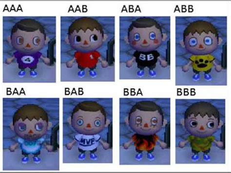 Animal Crossing City Folk Boy Hairstyles by Animal Crossing Wii Start