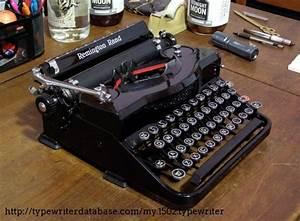 1938 Remington Rand Model 1 Typewriter  P121254 Twdb