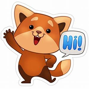 Freddie The Fox stickers on Viber