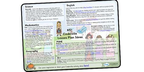 Cinderella Lesson Plan Ideas Ks1