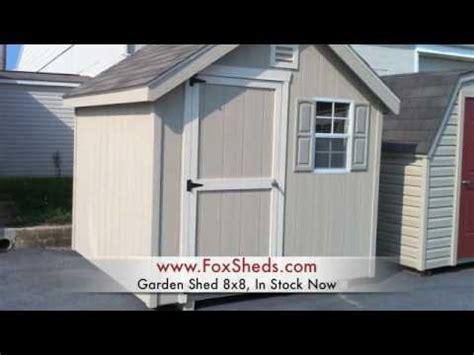 8x8 sheds garden shed 8x8 fox s country sheds