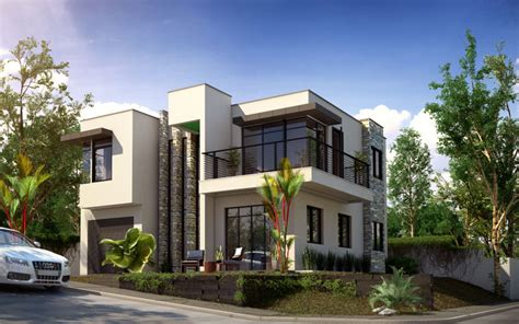 Modern House Design, PHD-2015015 - Pinoy House Designs