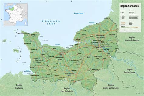 Die Normandie, Eine Region In Westfrankreich