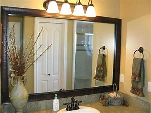 mirror frame kits for bathroom mirrors hdwallpaperblogcom With kitchen cabinets lowes with mirrored frame wall art