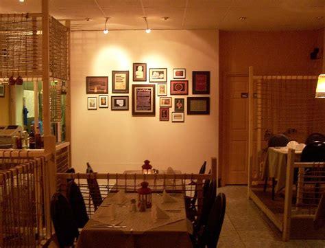 traditional indian pakistani village inspired restaurant