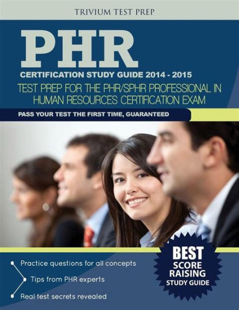 The bank exams practice papers are going to be very beneficial in increasing your scores and improvising your overall performance. PHR® Certification Study Guide 2014-2015: Test Prep for ...