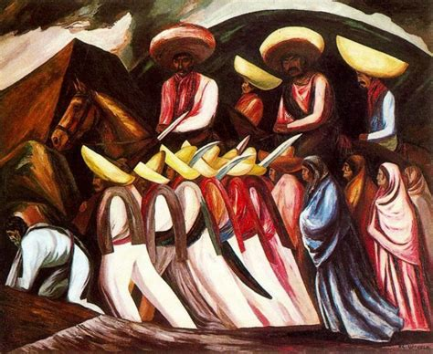 zapatista s marching 1931 jose clemente orozco
