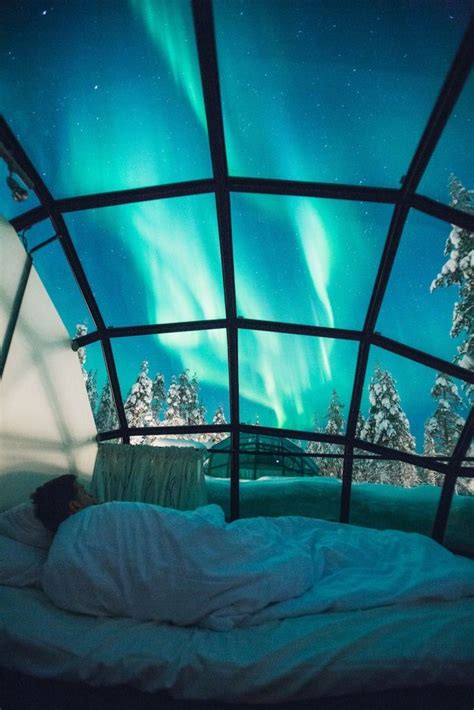 Northern Lights Igloo by This Arctic Igloo Resort Is Going To Give You Winter