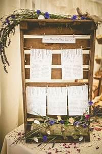 Cagette Bois Deco : 1001 id es de plan de table original pour votre mariage ~ Teatrodelosmanantiales.com Idées de Décoration