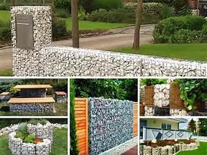 Steine Zum Mauern Preise : rund um gabionen selber bauen montage ~ Orissabook.com Haus und Dekorationen