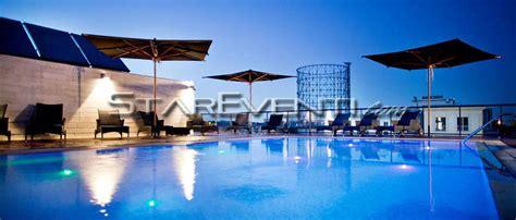 piscina in terrazza hotel portuense eventi