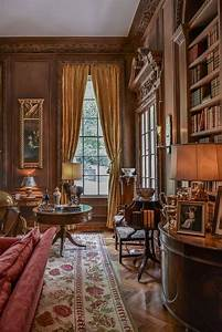 The, Best, Home, Library, Design, Ideas, With, Rustic, Style, 29
