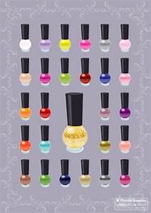 Nail polish color vectors Vector | Free Download