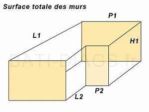 fiche de calcul des surfaces d39une maison With surface d une maison