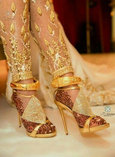 Indianpakistani Gold Anklet Jewelry Anklets Bridal