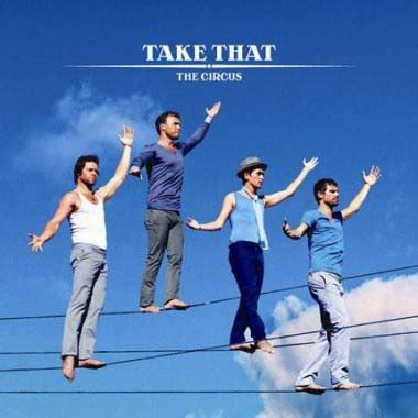 Album covers analysed: Take That, The Circus ...
