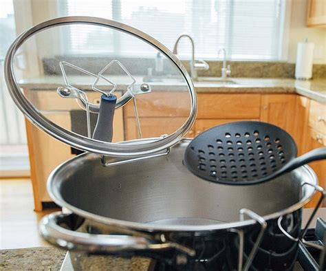 Pot Lid Rack Holder