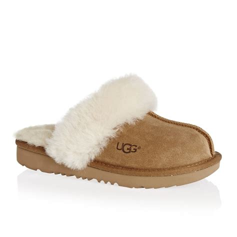 2417 childrens ugg slippers ugg cozy ii slippers chestnut free uk delivery on all