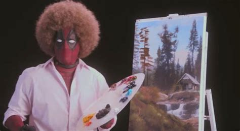 Ryan Reynolds Plays Bob Ross In This Brilliant Teaser For