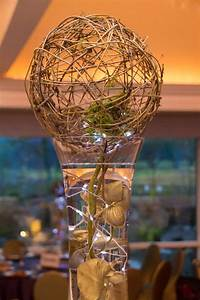 Wire, And, Fairy, Lights, Centerpiece